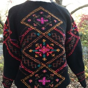 1980's Vintage Lord & Taylor Wool sweater
